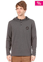 HURLEY Art Time Hooded Sweat heather black