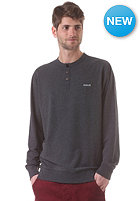 HURLEY Chest Corporate Sweat heather black