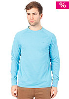 HURLEY Chest Icon Hooded Sweat heather cyan