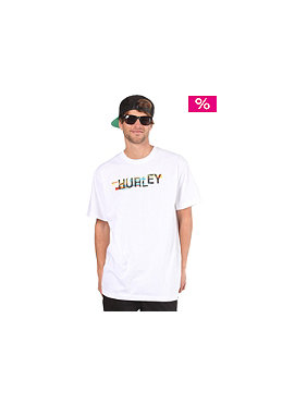 HURLEY Darko S/S T-Shirt white