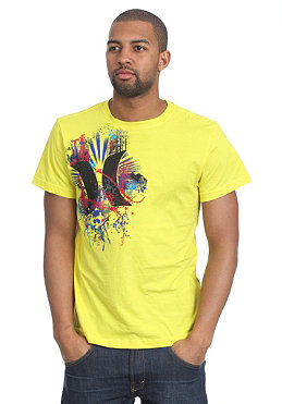 HURLEY Degree S/S T-Shirt bright yellow