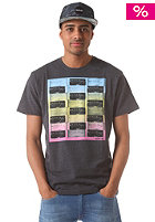 HURLEY Distill S/S T-Shirt heather black