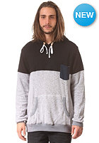HURLEY Evade Milled Pop Hooded Sweat heather white