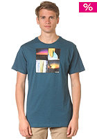 HURLEY Four Down S/S T-Shirt storm blue
