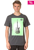 HURLEY Guitar Poster S/S T-Shirt heather black