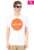 HURLEY Hand Crush and Only S/S T-Shirt white
