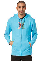 HURLEY Icon Ragland Hooded Sweat heather cyan