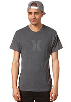 HURLEY Icon Ragland S/S T-Shirt heather black