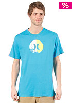 HURLEY Icon Split S/S T-Shirt cyan