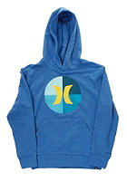HURLEY Kids Circle Icon Hooded Sweat heather royal