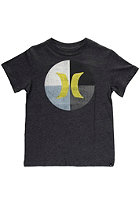 HURLEY Kids Icon Circle S/S T-Shirt heather black