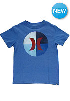 HURLEY Kids Icon Circle S/S T-Shirt heather royal