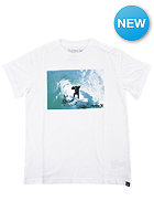 HURLEY Kids Monkey Barrel S/S T-Shirt white