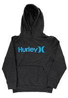 HURLEY Kids One & Only Hooded Sweat heather black