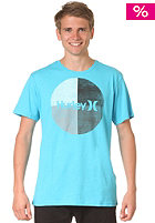 HURLEY Krush Boardie S/S T-Shirt heather tempo blue