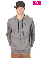 HURLEY Krush Hooded Zip Sweat graphite