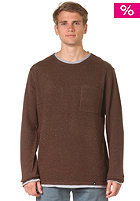 HURLEY Layered Up Knit Top fort green