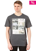 HURLEY Mitch Abshere Photo Collage S/S T-Shirt heather black