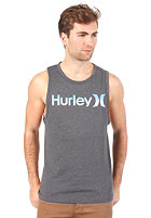 HURLEY O and O Bicolor Tank Top heather black