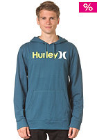HURLEY One and Only 2 Color Hooded Sweat storm blue