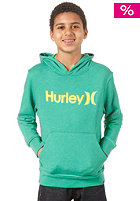 HURLEY One and Only Hooded Sweat heather celtic green