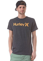 HURLEY One and Only Seasonal S/S T-Shirt heather black2