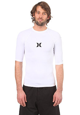 HURLEY One & Only S/S Lycra white