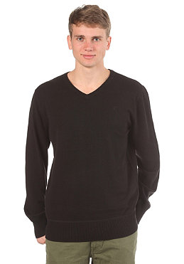 HURLEY One & Only V-Neck Woolsweat black