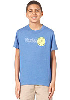 HURLEY Plus Smiles S/S T-Shirt heather royal