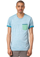 HURLEY Pro Am Crew S/S T-Shirt blue nile
