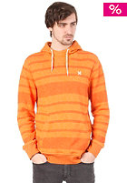 HURLEY Retreat All Stripe Hooded Sweat heather copper