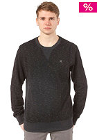 HURLEY Retreat Blend Crew Hooded Sweat heather black