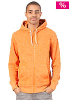 HURLEY Retreat Hooded Zip Sweat heather copper