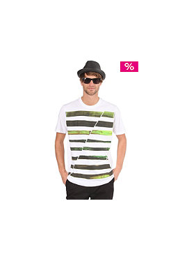 HURLEY Seaweed Stripe S/S T-Shirt white