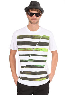 HURLEY Seaweed Stripe S/S T-Shirt white
