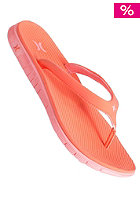 HURLEY Womens Phantom Sandal with Nike Free Sole hot coral