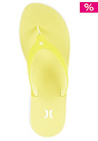 HURLEY Womens Phantom Sandal with Nike Free Sole volt/white