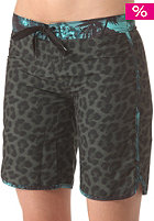 HURLEY Womens Supersuede Printed 9 Beachrider Boardshort combat