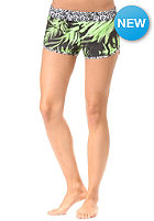 HURLEY Womens Supersuede Printed Beachrider Boardshort flash lime palm