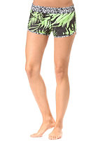 HURLEY Womens Supersuede Printed Beachrider flash lime palm