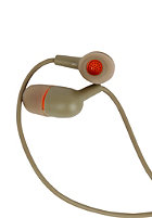 INCASE Capsule In Ear Headphones oregano/ fluoro orange