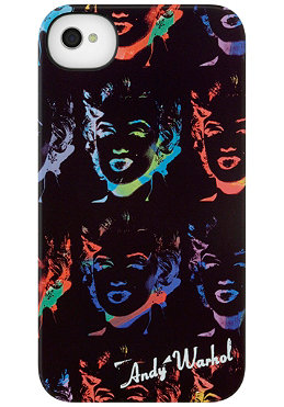 INCASE iPhone 4/ 4S Warhol Marilyn Snap Case black