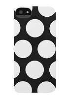 INCASE iPhone 5 Dot Snap Case black/white