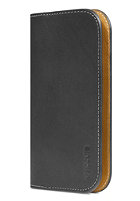 INCASE Leather Wallet for iPhone 5S & 5C black/tan