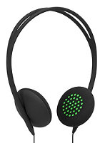INCASE Pivot Headphones black/fluoro green