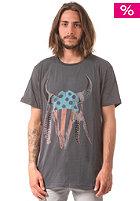 INSIGHT American Skull S/S T-Shirt biker grey