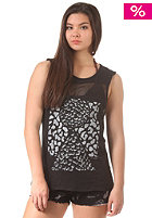 Womens Chromo Muscle Tank Top floyd black