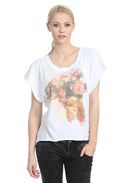 INSIGHT Womens Paint In Piece S/S T-Shirt white
