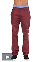 IRIEDAILY Bar 247 Chino Pant maroon