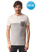 IRIEDAILY Block Pocket S/S T-Shirt grey-mel.